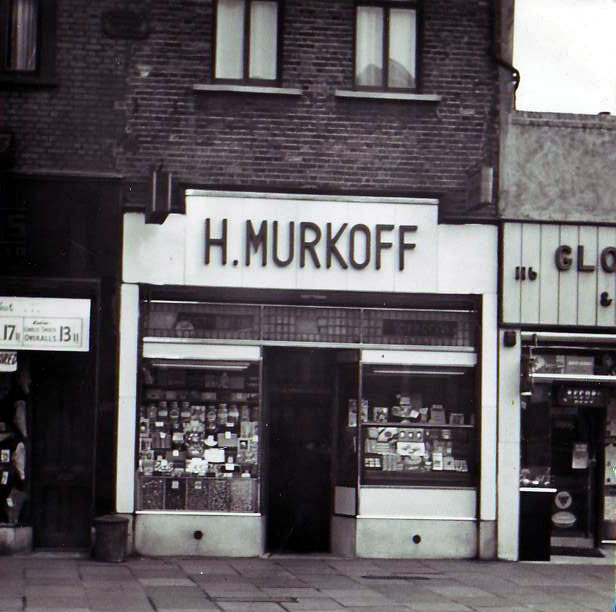 H. Murkoff's Ice Cream Shop, Canning Town